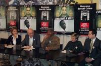 Conferenza stampa con Elisabetta Zamparutti, Sergio D'Elia, Leroy Orange (che ha trascorso 19 anni nel braccio della morte, poi scarcerato dal governa