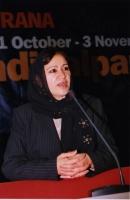 38° Congresso, II sessione. Soraya Rahim, vice Ministro delle donne per il governo dell'Afghanistan.