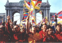 Manifestazione per la libertà del Tibet. Altre digitali.