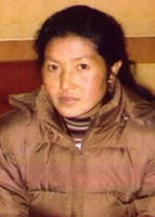 Ngawang Sangdrol, monaca tibetana, ex-prigioniera politica, al suo arrivo negli Stati Uniti.
