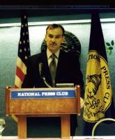 Ilyas Akhmadov, ministro degli Esteri della Cecenia.