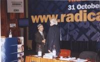 38° Congresso, II sessione. Enver Can (leader degli uighuri); Marco Pannella.