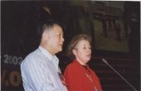 38° Congresso, II sessione. Alla tribuna: Wei Jingsheng, Marie Holtzman.