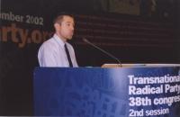 38° Congresso, II sessione. Alla tribuna: Marco Perduca.