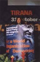 38° Congresso, II sessione. Alla tribuna; Rebeka Dremelj, Miss Slovenia 2001.