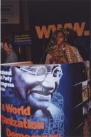 38° Congresso, II sessione. Khadi Koita, leader della campagna contro le mutilazioni genitali femminili.
