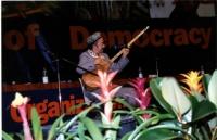 38° Congresso, II sessione. Un cantante uiguro.