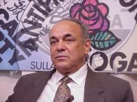 Ernesto Diaz (direttore dell'associazione Plantado e dissidente cubano) partecipa alla conferenza stampa di esuli cubani presso la sede del PR (per pr