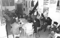 Assemblea organizzativa con Francesco Rutelli nella sede del PR di Milano in preparazione del viaggio a Bratislava (BN) buona