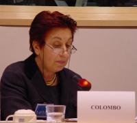 """Daniela Colombo (Presidente dell'AIDOS, Associazione Italiana Donne per lo Sviluppo) partecipa alla Conferenza Internazionale """"Stop Female Genital Mut"""