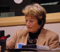 """Linda Weil-Curiel (avvocato, presidente di CAMS, Commission pour l'Abolition des Mutilations Sexuelles) partecipa alla Conferenza Internazionale """"Stop"""