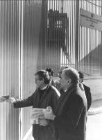 Enzo Tortora ed Emilio Vesce, in visita presso la casa circondariale di Foggia (2 copie)-