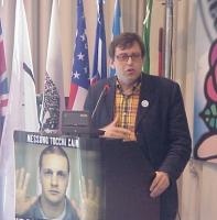 Bruno Mellano (consigliere radicale Regione Piemonte) all'assemblea degli iscritti a Nessuno Tocchi Caino.