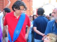 Marco Cappato partecipa al gay pride.