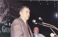 Enzo Tortora alla tribuna del 31° Congresso del PR.