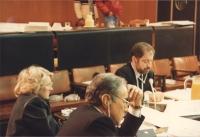 Enzo Tortora al Parlamento Europeo.