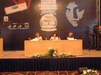"""???, Suzanne Mubarak, ed Emma Bonino nel corso della conferenza: """"""""LEGAL TOOLS FORTHE PREVENTION OF FEMALE GENITAL MUTILATION"""". Altre digitali"""