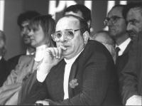 Franco Piro (PSI) primo piano. (BN)