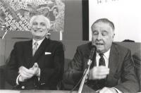 Marco Pannella e Antonio Baslini.