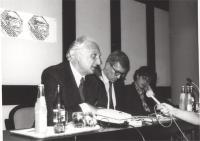 Marco Pannella, Paolo Vigevano, Massimo Lensi.