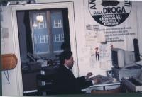 Marco Taradash, nel suo ufficio.