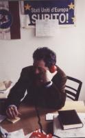 Marco Taradash nel suo ufficio.