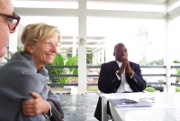 Missione di Nessuno Tocchi Caino. Emma Bonino a colloquio con Joseph Cabila, presidente della Repubblica Democratica del Congo.