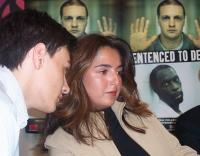 Presentazione del rapporto 2003 sulla pena di morte, curato da Nessuno Tocchi Caino. Nicole Sadighi, esponente del movimento studentesco iraniano. (A
