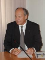Oumar Khanbiev, ministro della Sanità del governo Ceceno (in occasione di una conferenza stampa presso il Consiglio Provinciale di Bolzano).