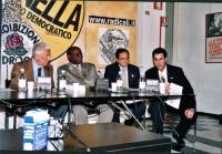 Conferenza stampa di esuli cubani presso la sede del PR (per presentare una maratona oratoria per la libertà a Cuba, promossa dal quotidiano L'Opinion