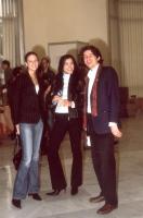 38° Congresso, II sessione. Sofia Hedmark, Miss Sweden World; Rebeka Dremelj, Miss Slovenia 2001; Marco Cappato.