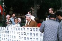 Manifestazione (indetta da Nessuno Tocchi Caino insieme al Partito Radicale) perché alla prossima Assemblea Generale dell'ONU l'Unione Europea si atti