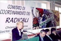 Comitato di coordinamento dei radicali. Alla tribuna: Emma Bonino. A destra: Danilo Quinto, Daniele Capezzone, Maurizio Turco.