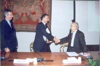 Celebrazione del V anniversario dell'adozione dello Statuto di Roma della Corte Penale Internazionale, presso la Sala della Protomoteca, in Campidogli