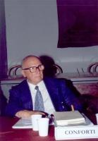 Benedetto Conforti - Presidente della Commissione per l'attuazione dello Statuto istitutivo della Corte Penale Internazionale, Ministero della Giustiz