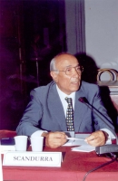 Giuseppe Scandurra (Presidente della Commissione per la riforma delle leggi penali militari, Ministero della Difesa) (partecipa alla celebrazione del