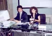 Niccolò Figà-Talamanca e Antonella Dentamaro.