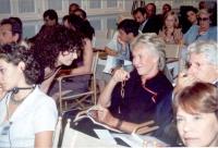 Antonella Dentamaro e Margherita Boniver (in occasione della tavola rotonda, promossa da No Peace Without Justice, in collaborazione con il ministero