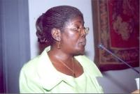 Akua Kuenyehia, Vice Presidente della CPI (in occasione della celebrazione del V anniversario dell'adozione dello Statuto di Roma della Corte Penale I