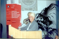 Carla Del Ponte, interviene duranrte la celebrazione del V anniversario dell'adozione dello Statuto di Roma della Corte Penale Internazionale, presso