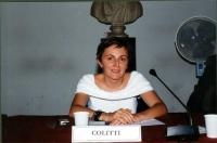 Maria Carmen Colitti (Celebrazione del V anniversario dell'adozione dello Statuto di Roma della Corte Penale Internazionale, presso la Sala della Prot