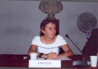 Maria Carmen Colitti. (Celebrazione del V anniversario dell'adozione dello Statuto di Roma della Corte Penale Internazionale, presso la Sala della Pro