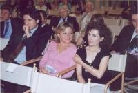 Marco Cappato, Gaia Gambini, Antonella Dentamaro (in occasione della tavola rotonda, promossa da No Peace Without Justice, in collaborazione con il mi