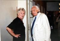 Marco Pannella e Margherita Boniver (in occasione della tavola rotonda, promossa da No Peace Without Justice, in collaborazione con il ministero degli
