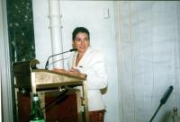 Florentina Voicu, vice Direttore del Dipartimento delle Nazioni Unite e delle Agenzie Specializzate (in occasione della tavola rotonda, promossa da No