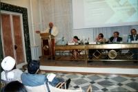 Alla tribuna: Marco Pannella. Al tavolo, da sinistra: Florentina Voicu; Claudio Troncoso, Direttore del Dipartimento legale, Ministero degli Affari Es