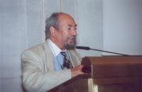 Prof. Saad Eddin Ibrahim, Director, Khaldun Center for Developmental Studies, Egypt  (In occasione della tavola rotonda, promossa da No Peace Without