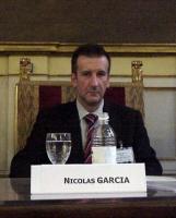 """Nicolas Garcia, professore di diritto Penale all'università di Albacete, al convegno: """"Il potere temporale della Chiesa cattolica 133 anni dopo"""" (pres"""