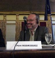 """Pepe Rodriguez, scrittore e giornalista al convegno: """"Il potere temporale della Chiesa cattolica 133 anni dopo"""" (presso la Sala del Cenacolo, Camera d"""