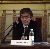 """Maurizio Turco, al convegno: """"Il potere temporale della Chiesa cattolica 133 anni dopo"""" (presso la Sala del Cenacolo, Camera dei Deputati)."""